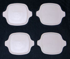 4 Corning Ware Petite Plastic Replacement Lid Cover P-41 P-43 Casserole Dish NEW