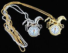 Wholesale 10 pcs Horse design necklace watches L27