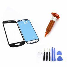 FRONTGLAS für SAMSUNG Galaxy S3 mini Schwarz Glas Display Touchscreen UV LOCA 5m