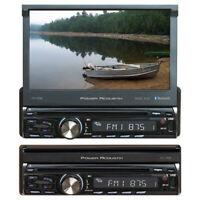 """NEW PD720B Power Acoustik Single DIN 7"""" Flipout AM/FM/CD/DVD/BT"""