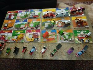 Thomas the tank engine die cast 18 trains and 18 books bundle