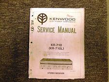Kenwood kr-710/L Receiver Original Service Manual