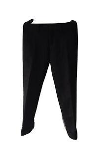 Señora Business sustancia pantalón recto pierna corte recto Classic Stretch elegante