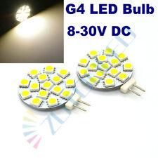 4x G4 led bulb replace 30W Halogen Bulbs 12-24V 15LEDs Warm White garden light