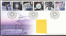 GB FDC 2003 Christmas