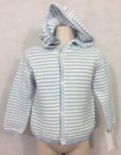 NWT baby B'gosh 18-24 Month Baby Boy's Lightweight 100% Cotton Hooded Sweater