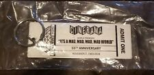 LAST ONE! CINERAMA DOME SOUVENIR TICKET KEYCHAIN MAD MAD WORLD ANNIVERSARY SGA