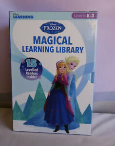 Frozen Magical Learning Library by Disney learning X15 reader books 2016 NEW