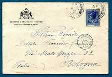MONACO - 1924-1933 - BUSTA- Destinazione Bologna.Principe Louis II. R679