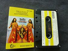 Buffy Sainte Marie Fire & Fleet & Candlelight Rare Australian Cassette Tape!