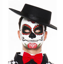 Day Of The Dead Mask Dia De Los Muertos Mexico Sexy Skull Mexican Costume