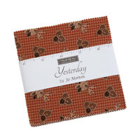 Moda Fabrics Charm Pack - Yesterday by Jo Morton. 42 x 5 inch squares