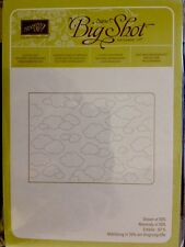 "Sizzix Big Shot ""CLOUDY DAY"" Textured Impressions Embossing"" Stampin'UP! NEW"