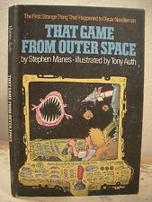 THAT GAME FROM OUTER SPACE Manes 1983 HC 1st Edition HAPPENED TO OSCAR NOODLEMAN