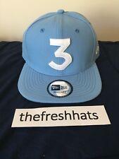 Chance The Rapper Powder Sky Blue 3 Hat Snapback New Era White Sox