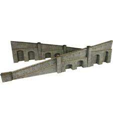 Metcalfe PO249 Tappered Retaining Wall in Stone OO/HO Gauge Card Kit