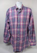 PETER MILLAR  - Men's Button Front Long Sleeved Shirt - XL - EUC - Checked