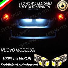 COPPIA LUCI TARGA 5 LED PER DODGE CALIBER T10 W5W CANBUS NO ERRORE