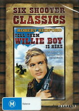 Six Shooter Classics Tell Them Willie Boy Is Here DVD R4