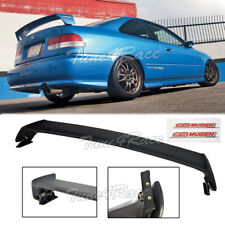 For 96-00 Honda Civic Mugen Style Trunk Wing Spoiler 2Dr Coupe w/ Red emblems