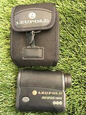 Leupold RX-1200i TBR/W With DNA Golf/Hunting Rangefinder Scope + Case VERY GOOD