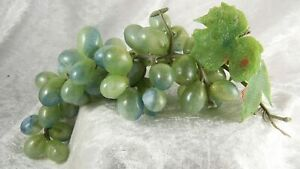 Faux fruit plastic Green grapes  x 1  decorative item