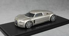 Best of Show BOS Audi Rosemeyer Concept Car in Aluminium 2000 43460 1/43 NEW