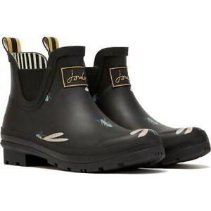Joules Wellibob Womens Ladies Short Ankle Wellingtons Chesea Boots Size 4-8