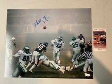 Randall Cunningham Autograph Signed Eagles Fog Bowl 16x20 Photo JSA