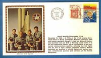 Colorano STS-5 Space Shuttle Columbia Launch Kennedy & Return Edwards AFB Covers