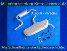 Abgasanlage Auspuff Schalldämpfer Audi A3 1.6 FSi (Typ 8P1) 3 - Türer + Anbaukit