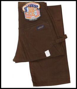 Brown vintage DEE CEE washington 1970's Denim Trouser Carpenter Utility Jeans