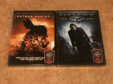 2 New Batman Dvds: Batman Begins, The Dark Knight! Both 2-Disc Special Editions!