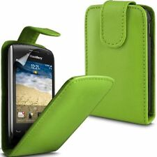 BLACKBERRY CURVE 8520 GREEN/PINK FLIP CASE