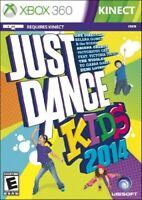 XBOX 360 DANCING GAME JUST DANCE KIDS 2014 BRAND NEW & FACTORY SEALED