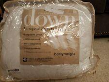 Charter Club heavyweight full/Queen European White Down Comforter