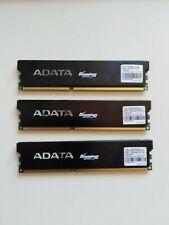 BARRETTES MEMOIRE DDR3-1600 ADATA 6 GO ( 3X2) OCCASION TESTE (4173)