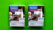 BETTER HOMES & GARDENS SCENTED WAX CUBES COOKIES FOR SANTA 6-COUNT - SET OF 2