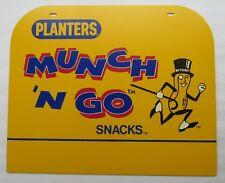 Mr Peanut Cardboard Munch N Go Header Sign