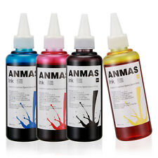 4 pcs Set 4 Colors 100ml Cartridge Refill Ink For All Universal ,Epson Canmon HP