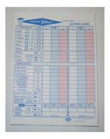 Triple Yahtzee Score Pad 80 Sheet Pad