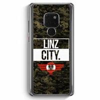 Linz City Camouflage Österreich Huawei Mate 20 Hülle Motiv Design Austria Cov...