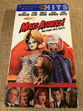 Mars Attacks! Vhs Vcr Video Tape Movie Jack Nicholson Annette Bening Used