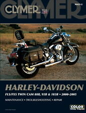HARLEY-DAVIDSON FLS / fxs twin cam 88B 95B & 103B 2000-2005 Clymer MANUALE m4232