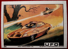 UFO - ANGLO (1970) - Card #54 - UFO Attacking a Car - Individual Trading Card