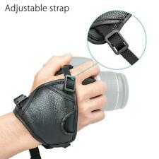 DSLR Cameras Leather Hand Grip Wrist Strap For Nikon Sony Canon Pentax Olym Y0J8