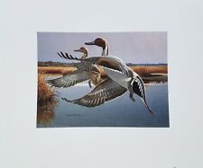 1987 North Carolina Duck Stamp Press Proof Print
