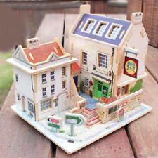 1/24 Diy Dollhouse Miniature Kit with Furniture -Bar Pub Life Scene Ornament