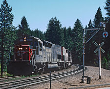 Southern Pacific SD45T-2 Photo Metal Sign