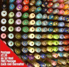 Macchina da Cucire Filo 1000m Spola Poliestere Scelta Colori Alta Qualità 120s